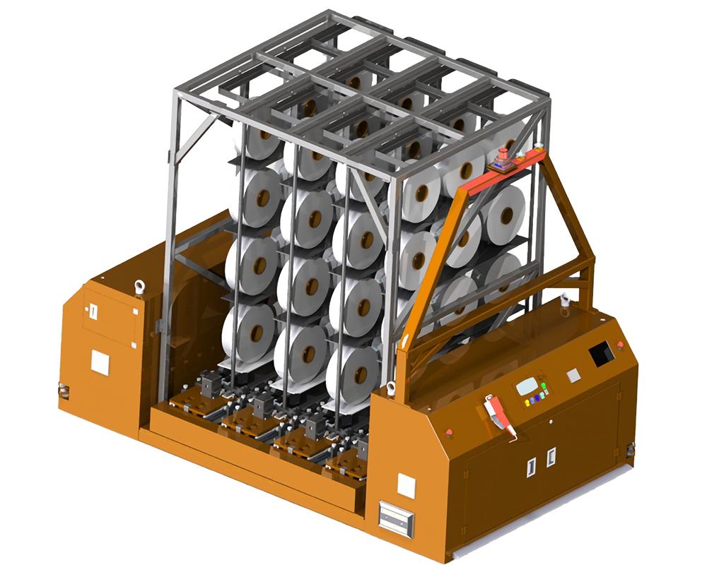 双向背负式AGV-3.5T