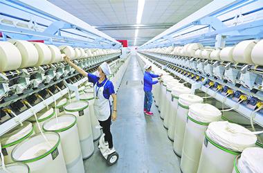 """纺织行业人工贵,suntech电动轴车以""""智能""""降低人工成本"""